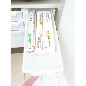 割り箸 割りばし 使い捨てカトラリー 保管方法 収納 整理 ダイソー 引き出しケース 白 引き出しボックス おすすめ キッチン