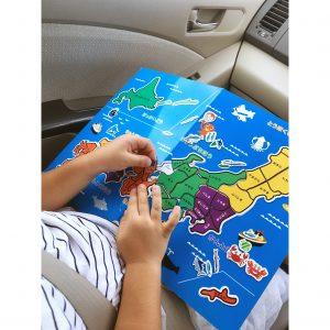 日本地図 ひらがな 地図 パズル 子供用 6歳の娘が地図を覚えた方法 子供が地図を覚える