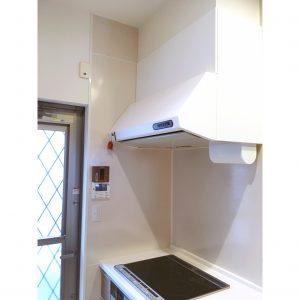 キッチン レンジフード リメイクシート 白 色の変更 色を変える 収納 整理整頓 DIY