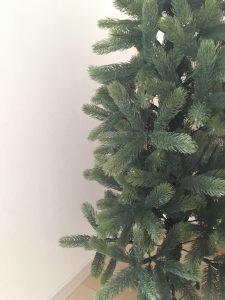クリスマスツリー リアル枝 ドイツトウヒ 新しいツリー 落ちない枝 葉が落ちないツリー