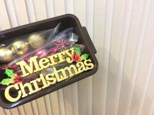 クリスマスツリー オーナメント クリスマスツリー飾り 100均 収納 整理整頓 3コインズ ボックス スリーコインズ ブログ