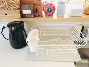 ダイソー DAISO 珪藻土マット 珪藻土 キッチン 水切りかご シンプル キッチンカウンター 収納 整理整頓 ブログ