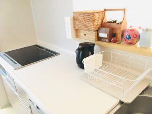 ダイソー DAISO 珪藻土マット 珪藻土 水切りかご 食器洗い キッチン キッチンカウンター 無印 無印良品 収納 整理整頓 ブログ