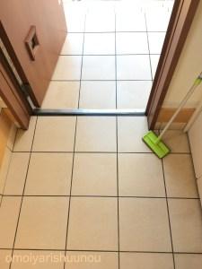 玄関 タイル きれい ブラシ オススメ 掃除用品 掃除 大掃除 収納 整理整頓 片付け 一軒家