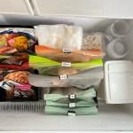 冷凍庫の整理はケースを使うよりもブックエンドを使うのが正解❢❢