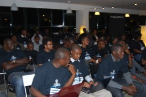 devs at blackberry hackathon nairobi