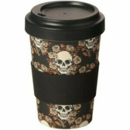 Skull Bamboo Travel Mug