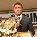 新日本プロレスG1CLIMAX26記者会見オカダ・カズチカ