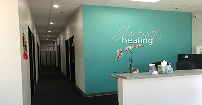 Juvenate Healing is open to treat chronic pain, sports injuries and provide facial rejuvenation. We offer acupuncture, laser therapy, traditional Chinese Medicine techniques like cupping, gua sha and tui na