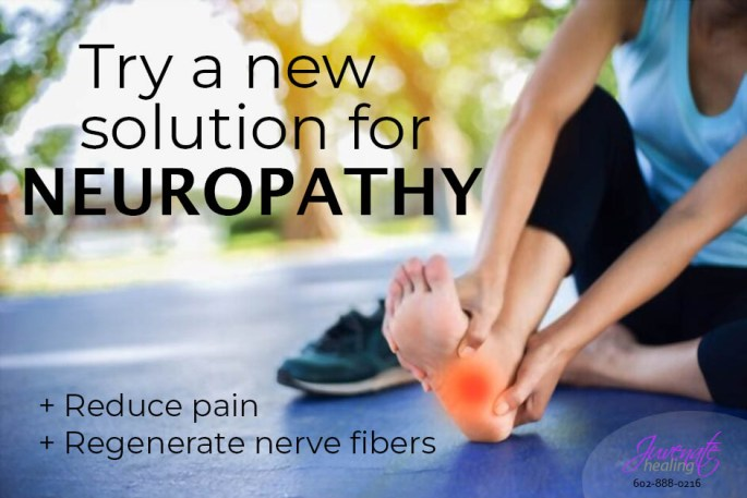 Low-level laser therapy is an effective neuropathy treatment. Non-invasive, painless.