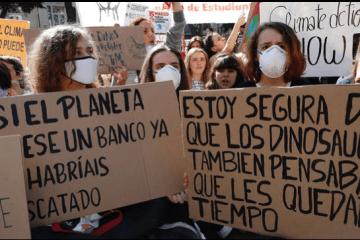 'Fridays for Future' llega a Madrid y otras ciudades españolas para reivindicar la defensa del planeta