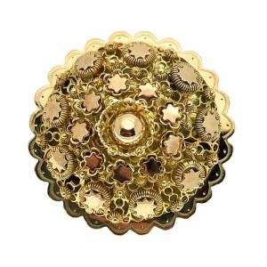 gouden antieke broche