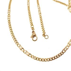 gouden figaro schakel ketting