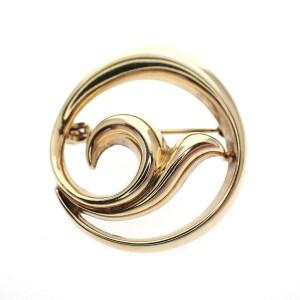 gouden broche fantasie fishtale