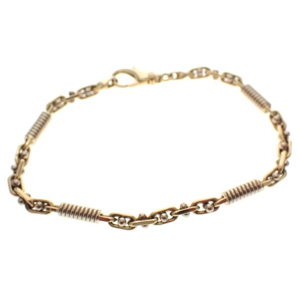 gouden armband springveer