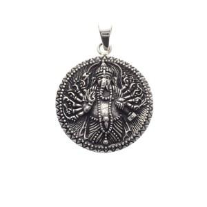 hanger Ganesha zilveren