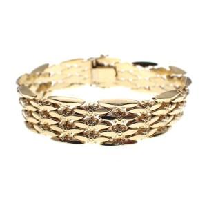 gouden vintage armband