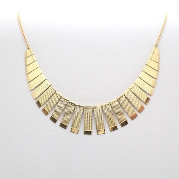 antiek gouden collier DRGM