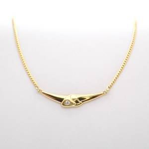 gouden ketting met hanger