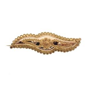 antieke gouden broche