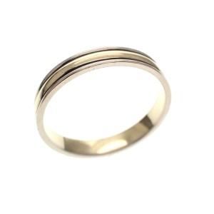 gouden aanschuif ring