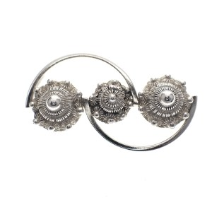 Zeeuwse s broche zilver