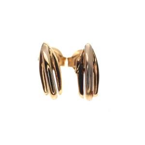 bicolor oorstekers 70's
