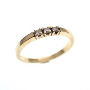 gouden diamanten ring goedkoop