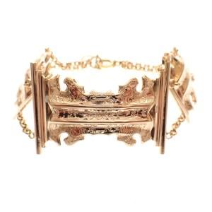 armband bijbel slot goud