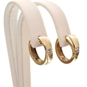 tweedehands gouden oorbellen