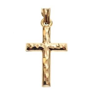 klein gouden kruisje hanger