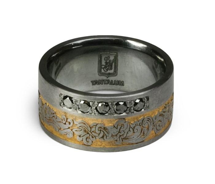 RoyalCurl02 Salzburger Juwelierwaren KREMO kreativ modern Juwelier Salzburg Tantal Ringe Tantalum Trauringe sind einfach etwas Besonderes