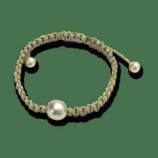 Gellner Armschmuck Divers. Gellner Basic PS Armbandmit 3 Tahiti-Perlen.