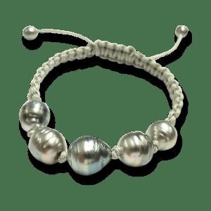 Gellner Armschmuck Divers.Gellner Basic PS Armband mit 7 Tahiti-Perlen.