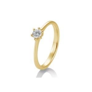 Winkler Fine Jewelry Verlobungsring New York Gelbgold