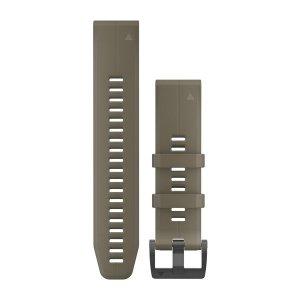 Garmin Garmin fenix 5Plus Quickfit-Armbänder 22 mm 010-12740-05 Silikon Hellbraun mit Teilen in Schwarz für einen Handgelenkumfang von 125-208 mm