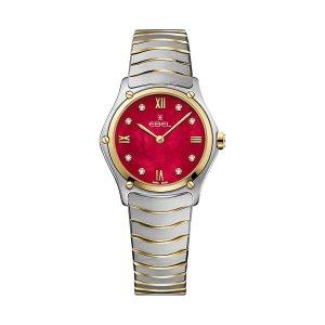 EBEL Uhren für Damen bei Juwelier Winkler kaufen. EBEL Sport Classic Damenuhr 1216490A rotes Zifferblatt jetzt online entdecken. Kostenlose Lieferung schnell & unkompliziert.