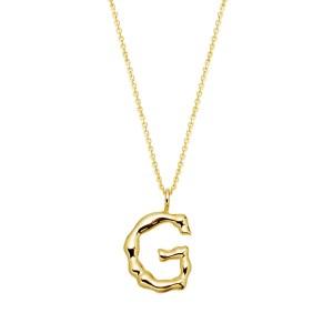 Halskette mit Buchstaben Anhänger G jetzt online kaufen. Kostenlose Lieferung schnell und sicher bei juwelier-winkler.com einkaufen.