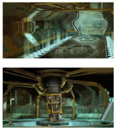Environment studies from Iron Man 2. (Silvio Aesbischer, courtesy image)