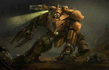Mech concepts from Iron Man 2. (Silvio Aesbischer, courtesy image)