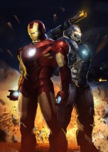Cover art concept for Iron Man 2. (Silvio Aebischer, courtesy image)