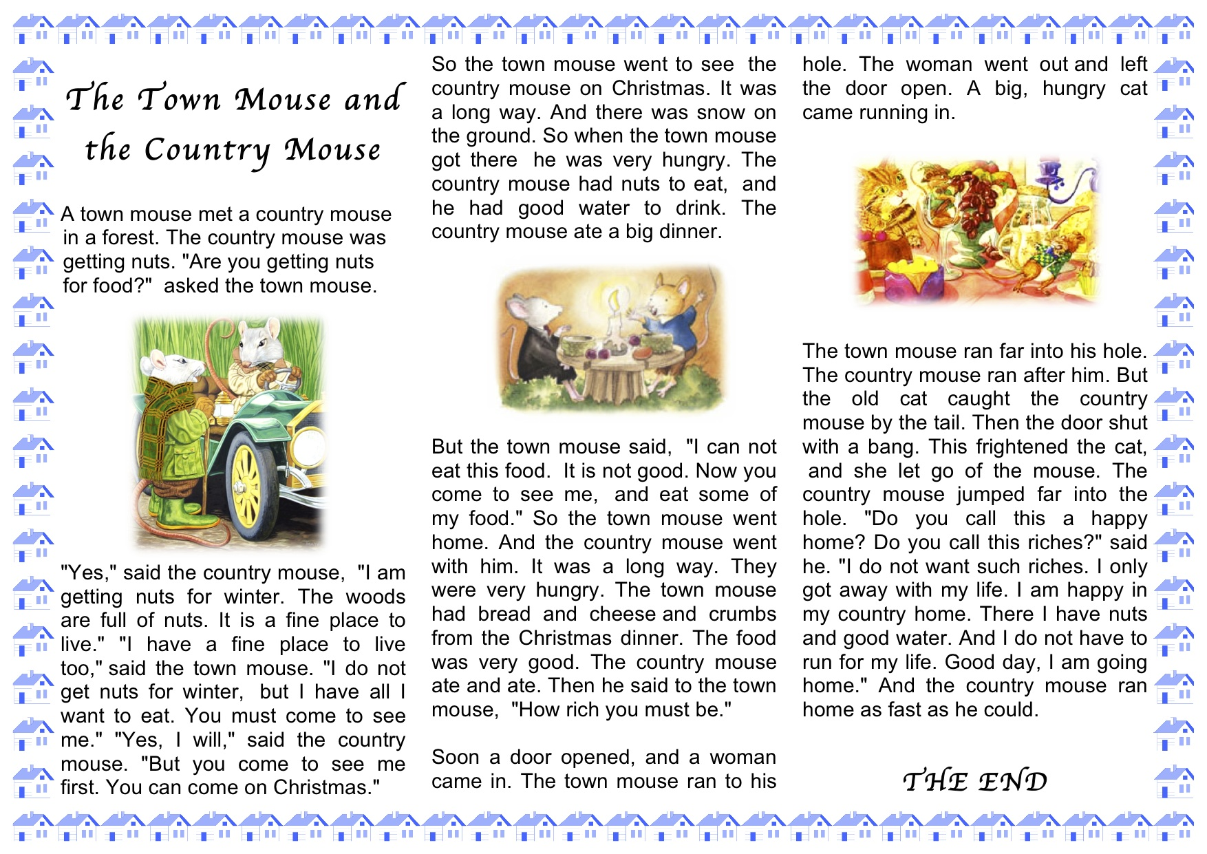This Week For Our Sunday Storytime The Country Mouse And