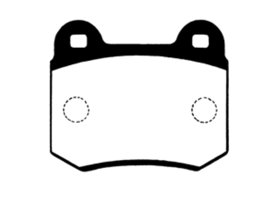 Project Mu HC-CS Bremsbeläge hinten Nissan Skyline R32 GT