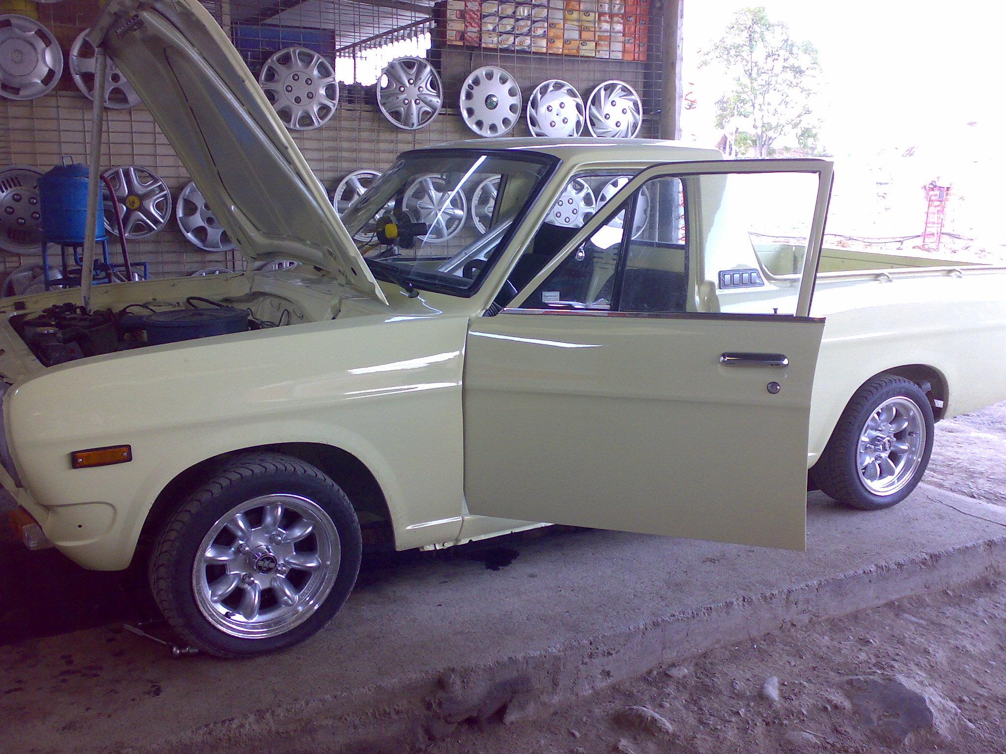 Datsun 1200  Juan Jos Valencia A