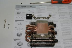 Piezas nuevo disipador procesador
