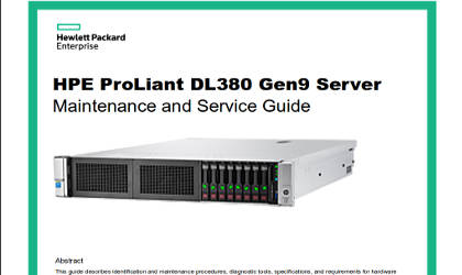hp proliant dl380 g3 manual