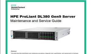 Manual Proliant DL380 G9