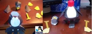 Montar pingüino recortable 03