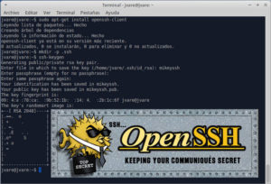 Como usar ssh creando clave ssh