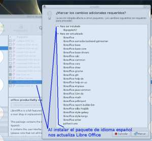 LibreOffice l10n-es para poner Knoppix 7.6 en español